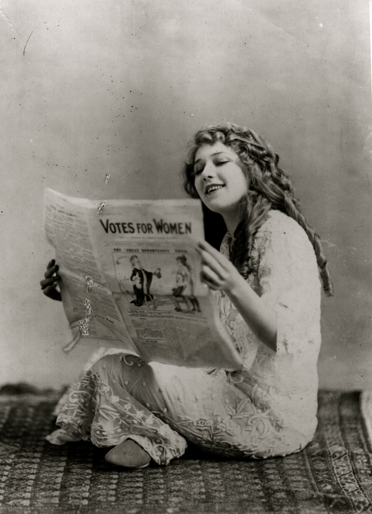 Friday Glam Spam Mary Pickford Garbo Laughs